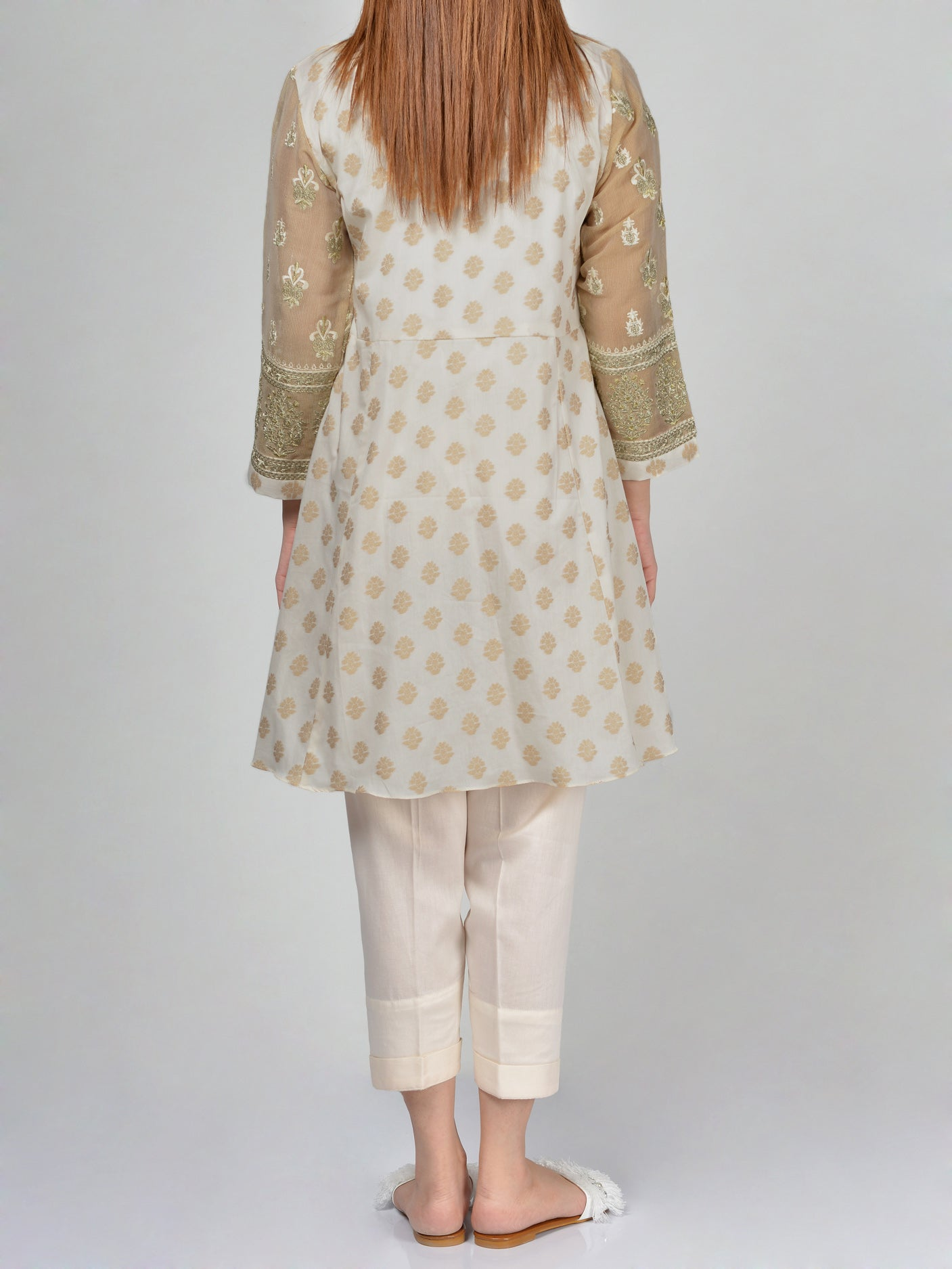 Embroidered Jacquard Shirt