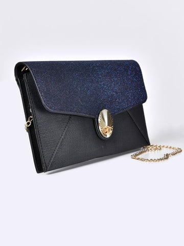 Shimmer Flap Clutch