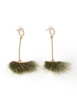 Poom Poom Earrings