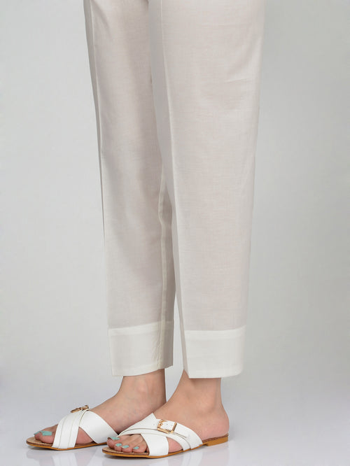 Straight Trouser-Off White