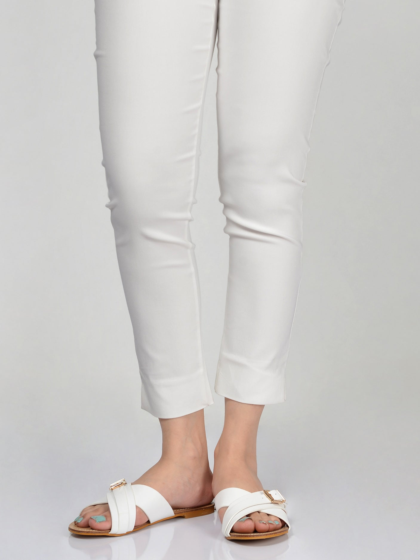 Jeggings-White
