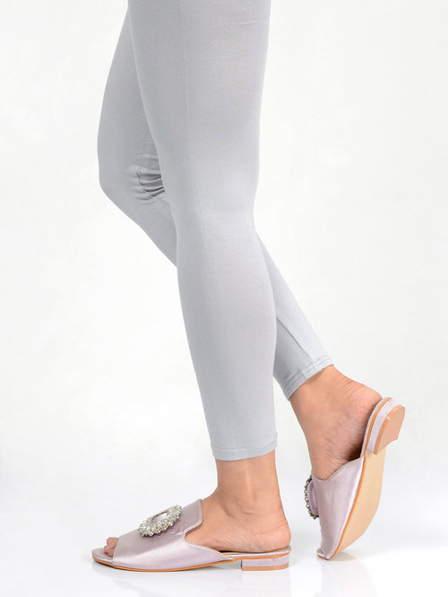 Basic Tights-Light Grey