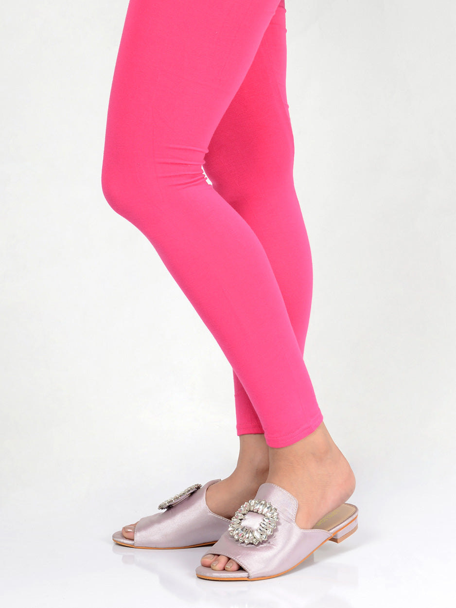Basic Tights-Pink
