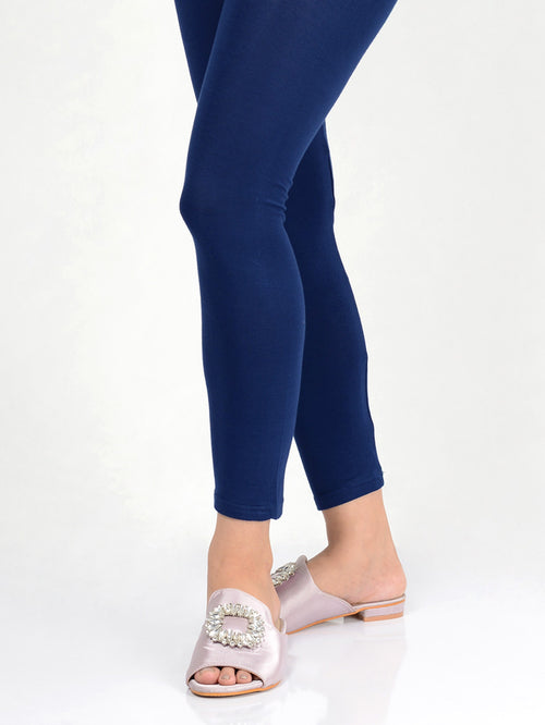 Basic Tights-Royal Blue
