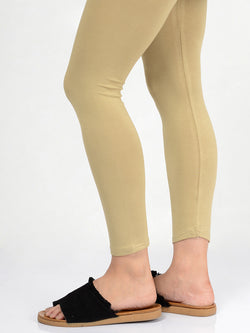 Basic Tights-Khaki