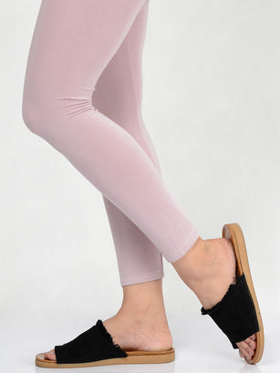 Basic Tights-Light Purple
