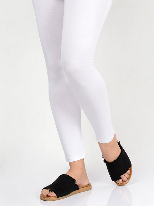 Basic Tights-White