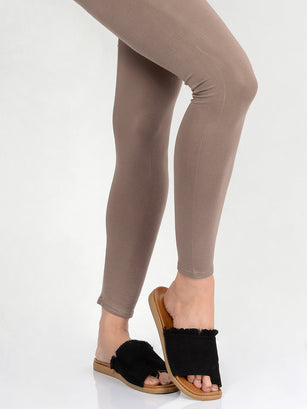 Basic Tights-Brown