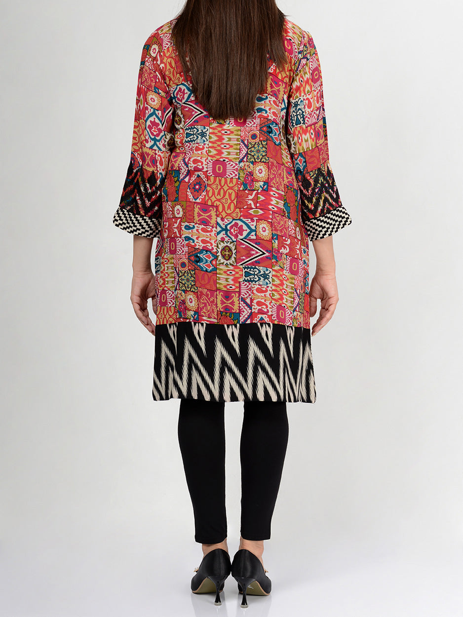 Limelight Embroidered Lawn Shirt P0059 Online