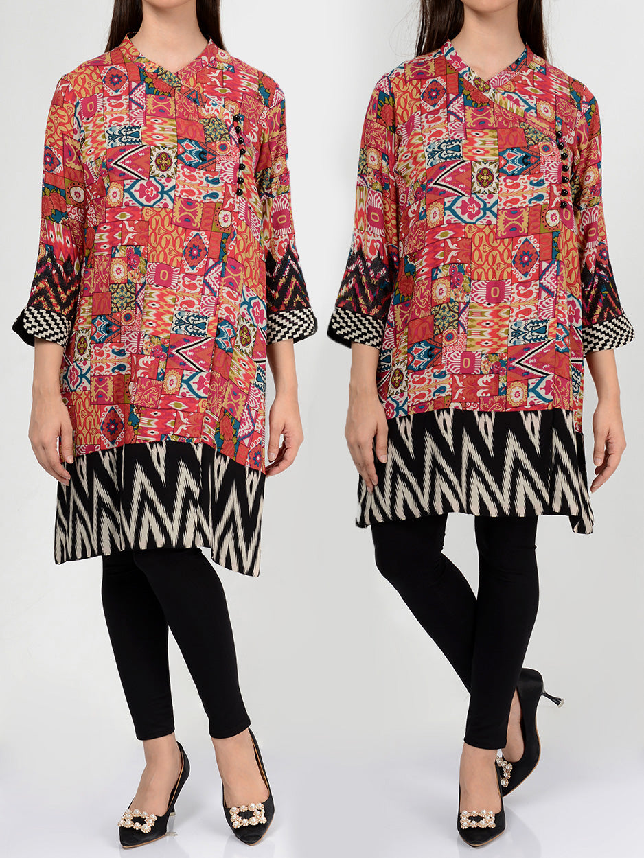 Pret Embroidered Lawn Shirt P0059 Online