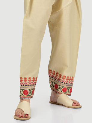 Embroidered Winter Shalwar