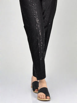 Embellished Cambric Trouser