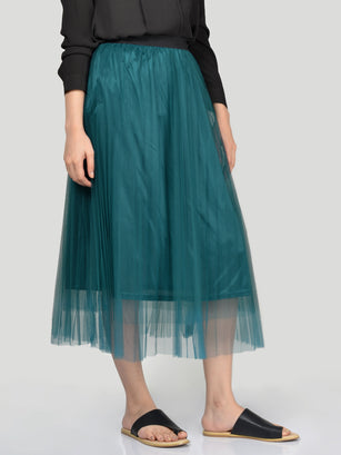 Net Skirt-Green