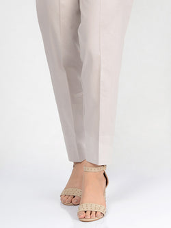 Straight Trouser-Grey