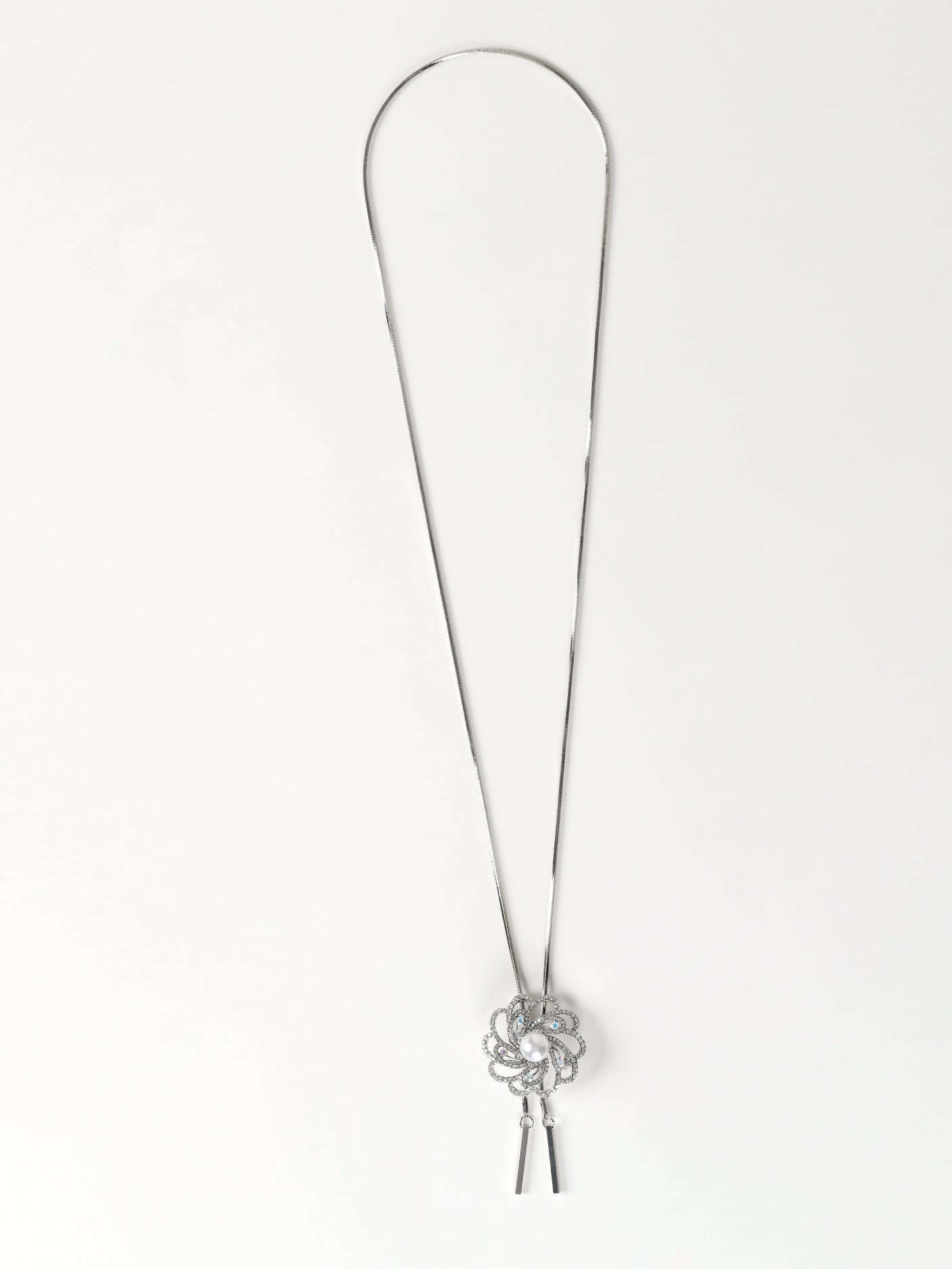 Crystal Floral Necklace