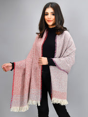 Striped Shawl - Red
