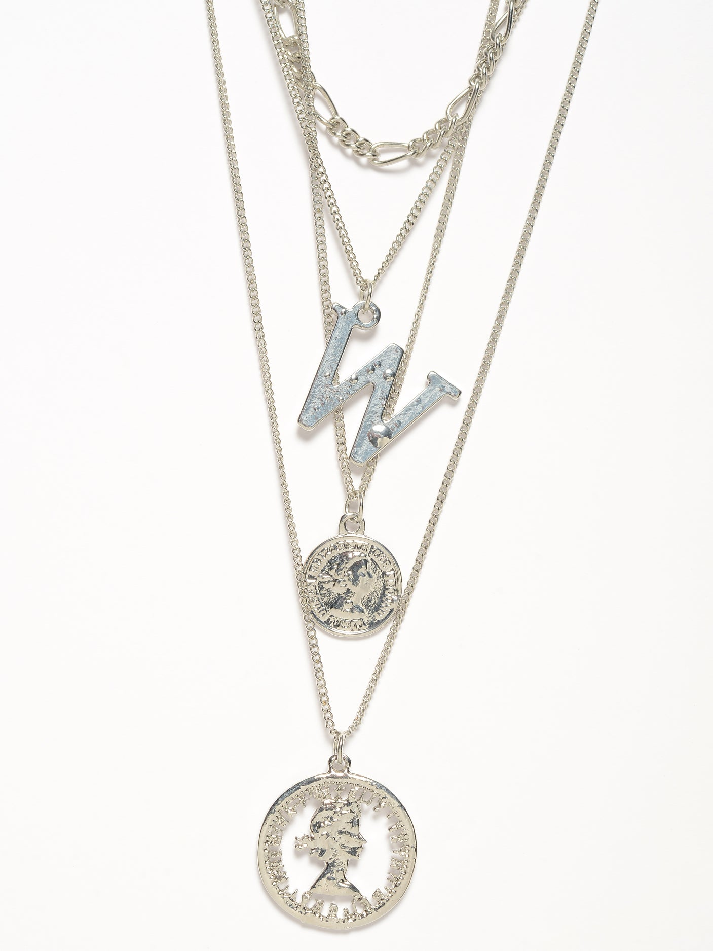 Layered Coin Necklace