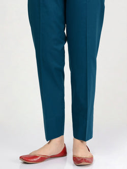 Straight Trouser-Dark Ferozi