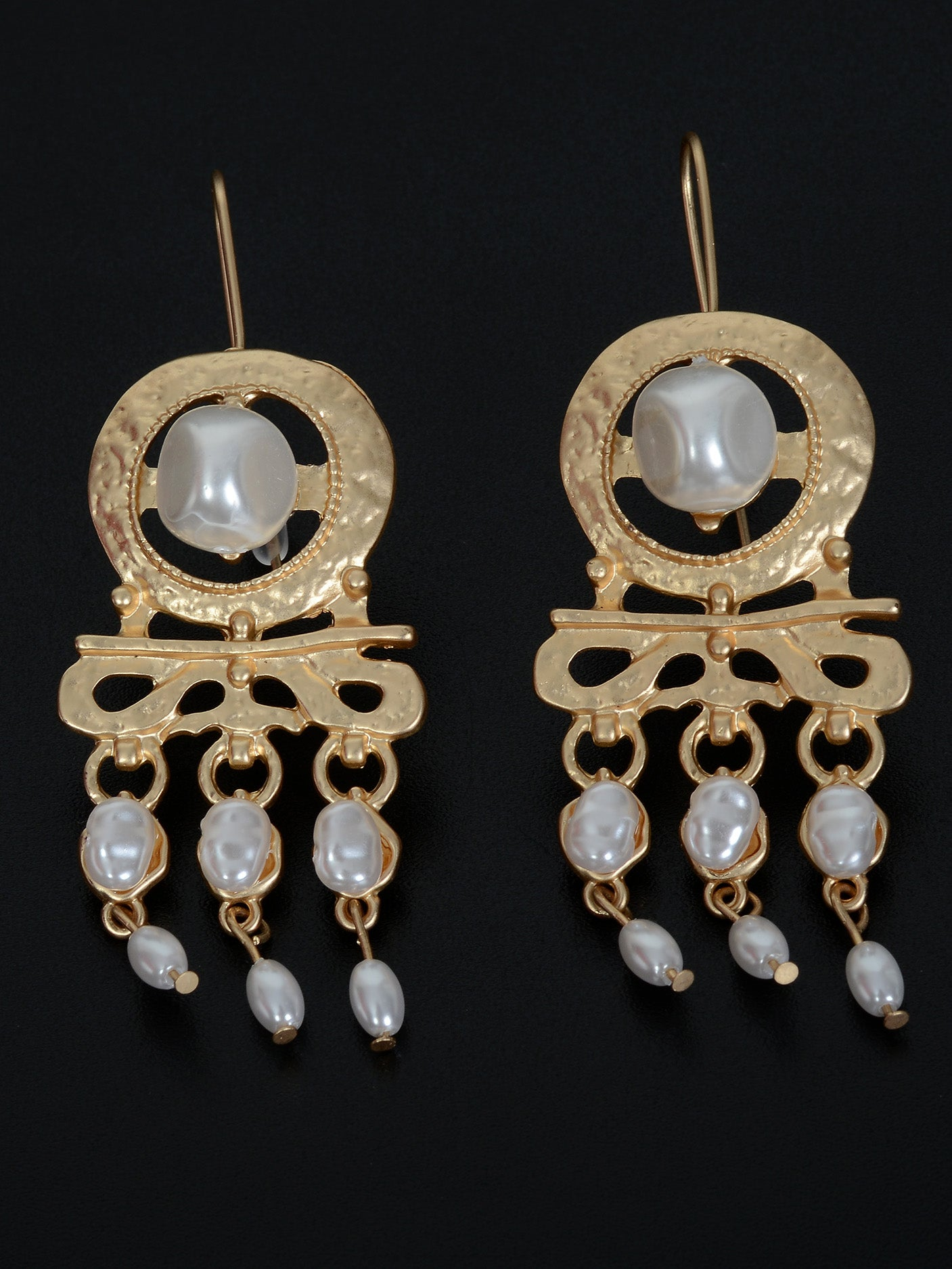 Pearl Finished Earrings