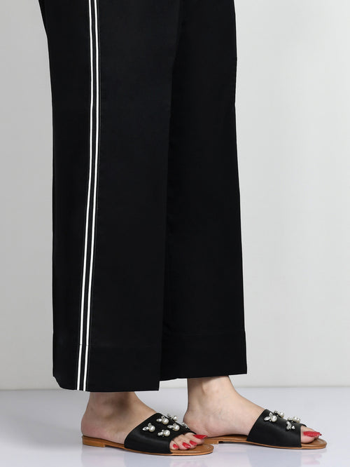 Striped Winter Cotton Pants
