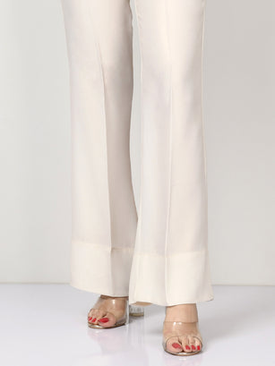Shimmer Grip Pants - Off White