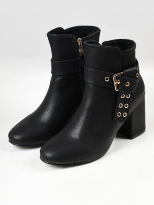 Buckled Boots - Black