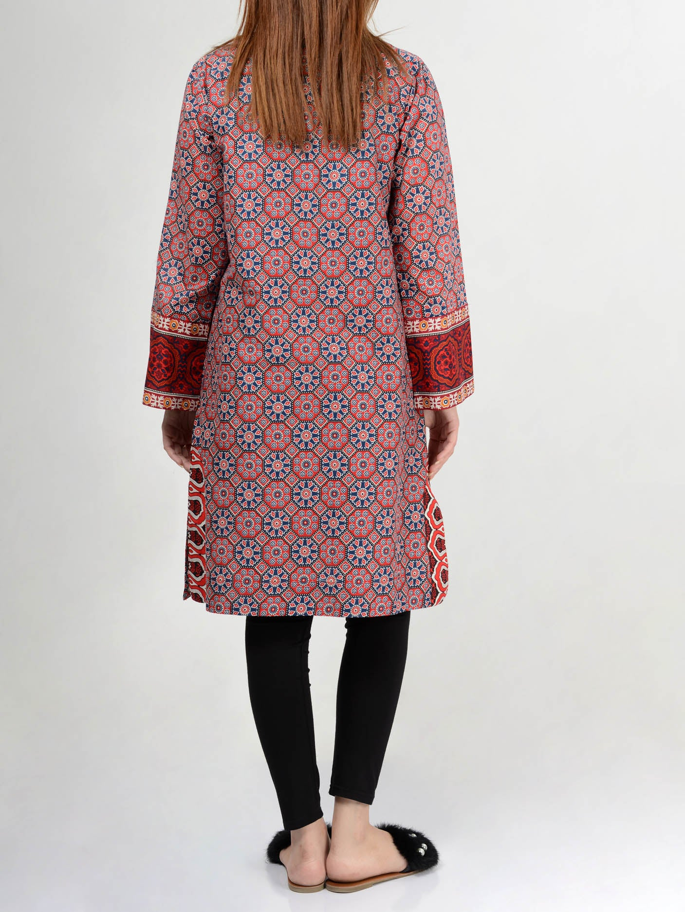 Limelight Embroidered Lawn Shirt P0114 Online