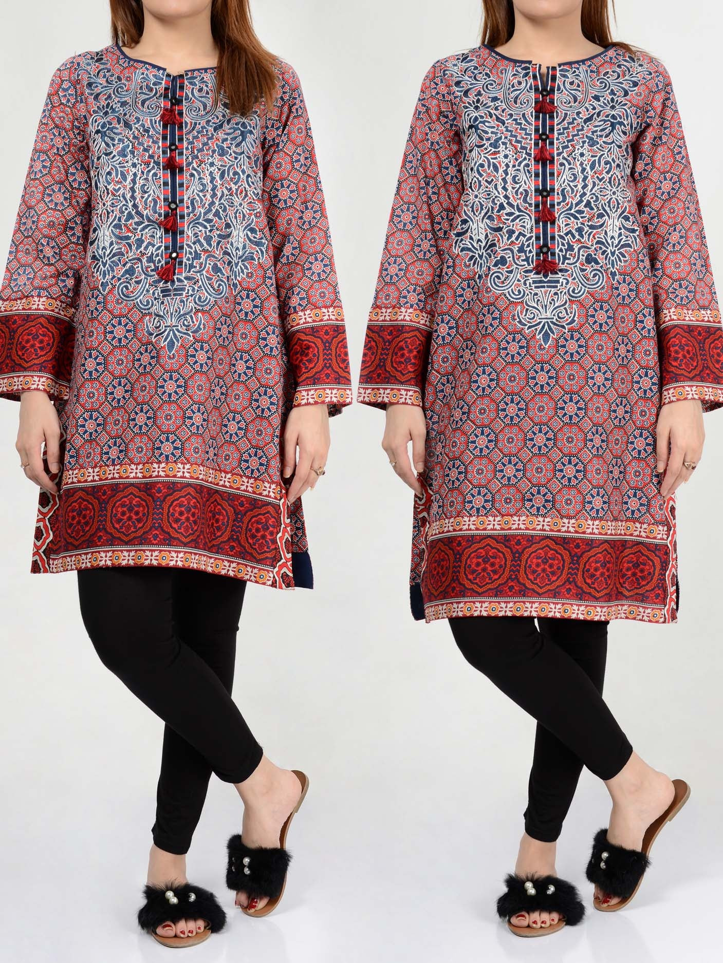 Pret Embroidered Lawn Shirt P0114 Online