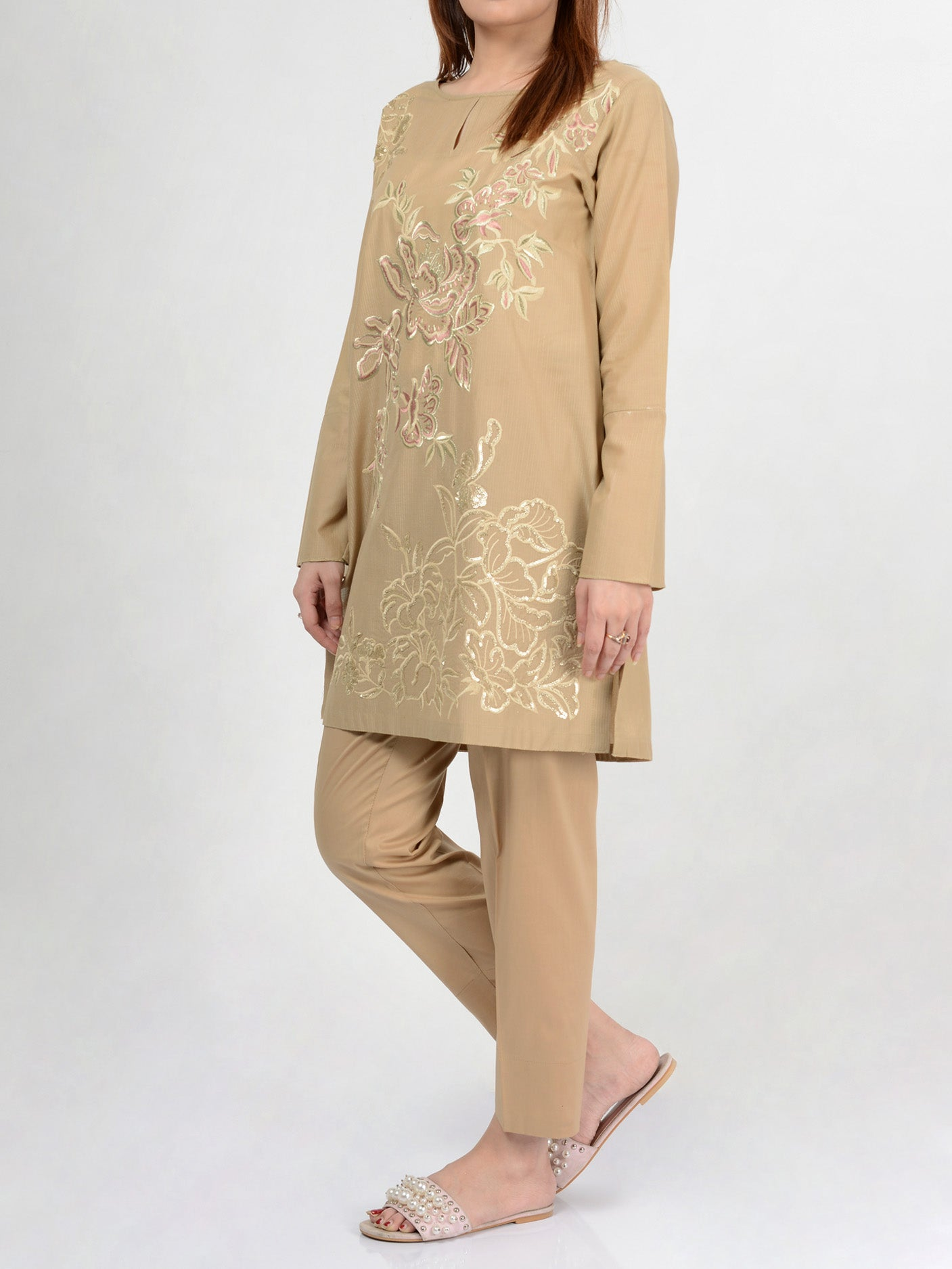 Pret Embroidered Lawn Shirt P0102
