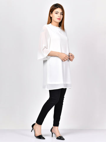 Long Chiffon Top