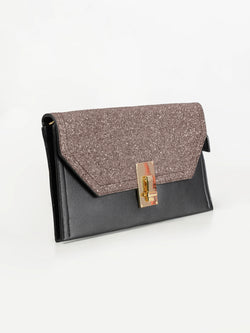 Textured Shiny Clutch
