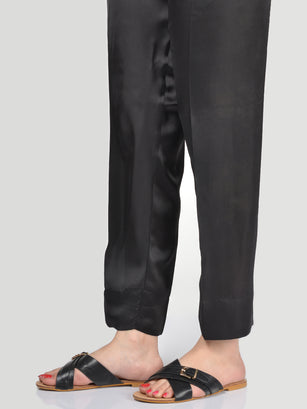 Silk Straight Trouser