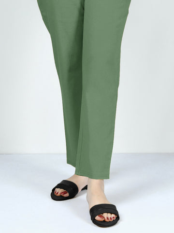Pocketed Trouser - Green
