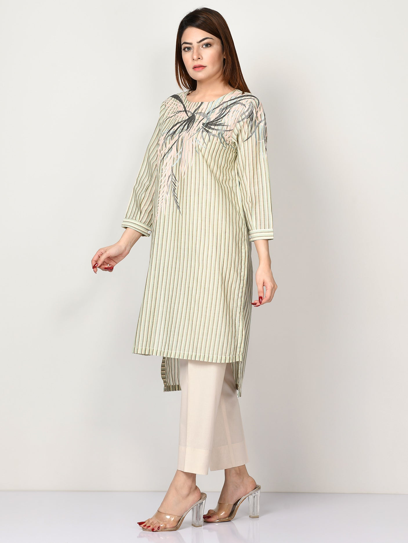 Embroidered Khaadi Shirt