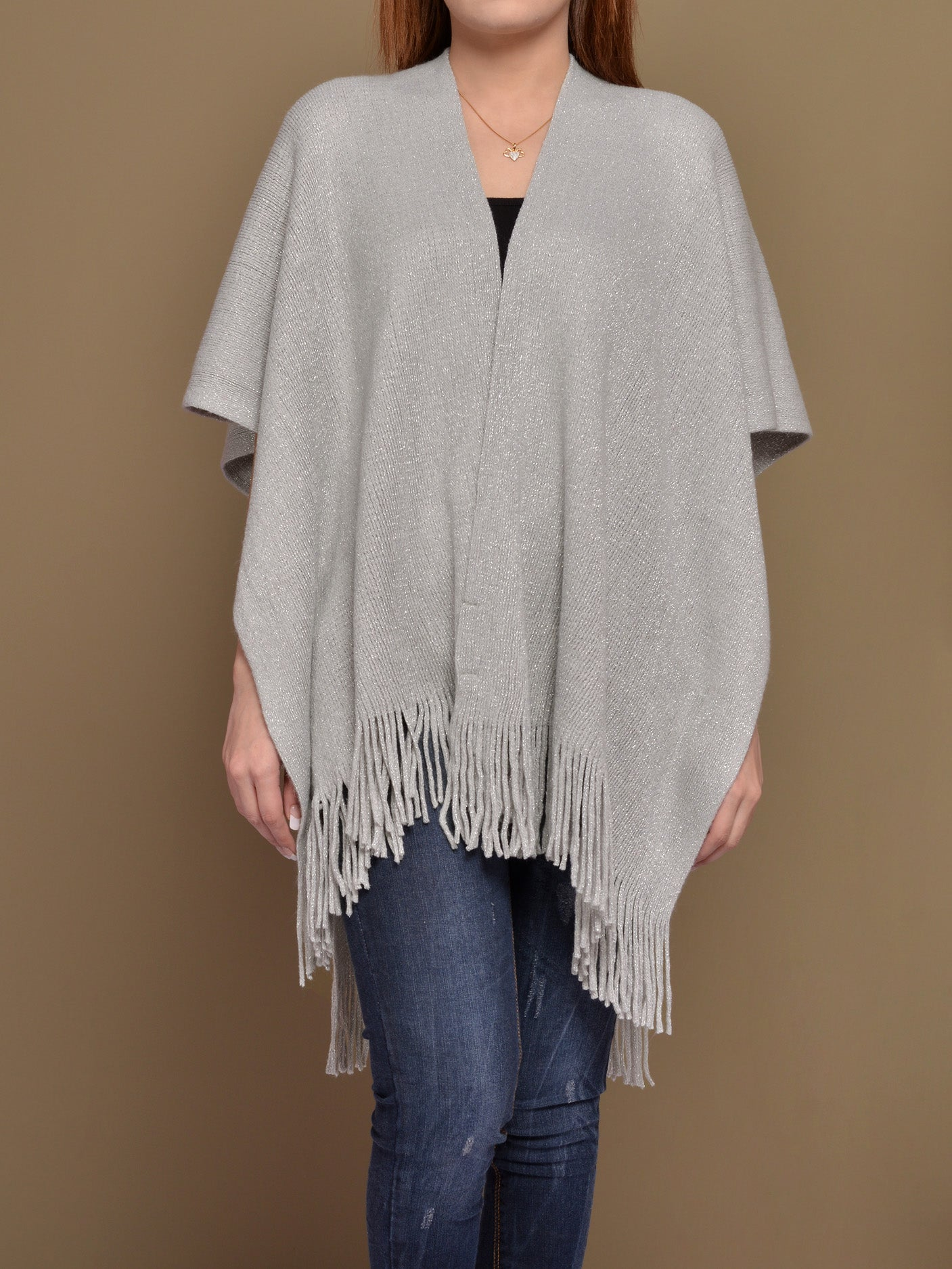 Shimmer Cape Shawl