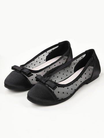 Bow Net Pumps - Black