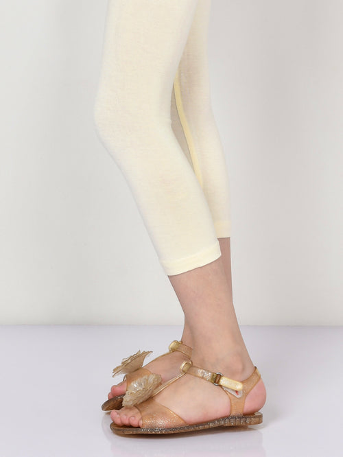 Basic Tights - Cream