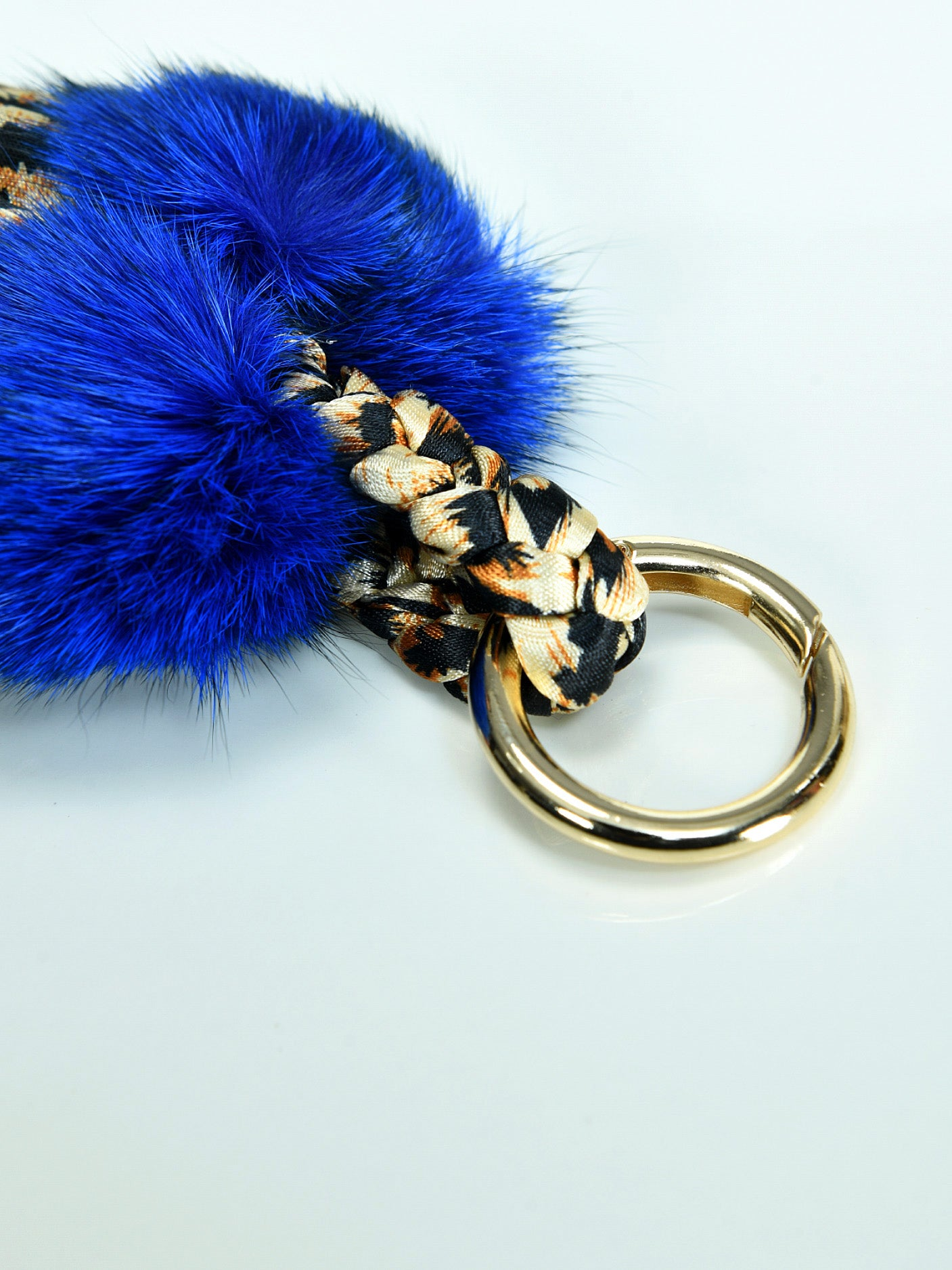 Pompom Tasseled Key Chain