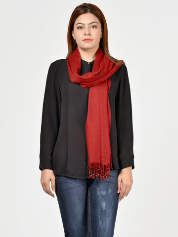 Pearl Shawl - Bright Red