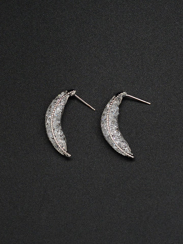 Crescent Mesh Earrings