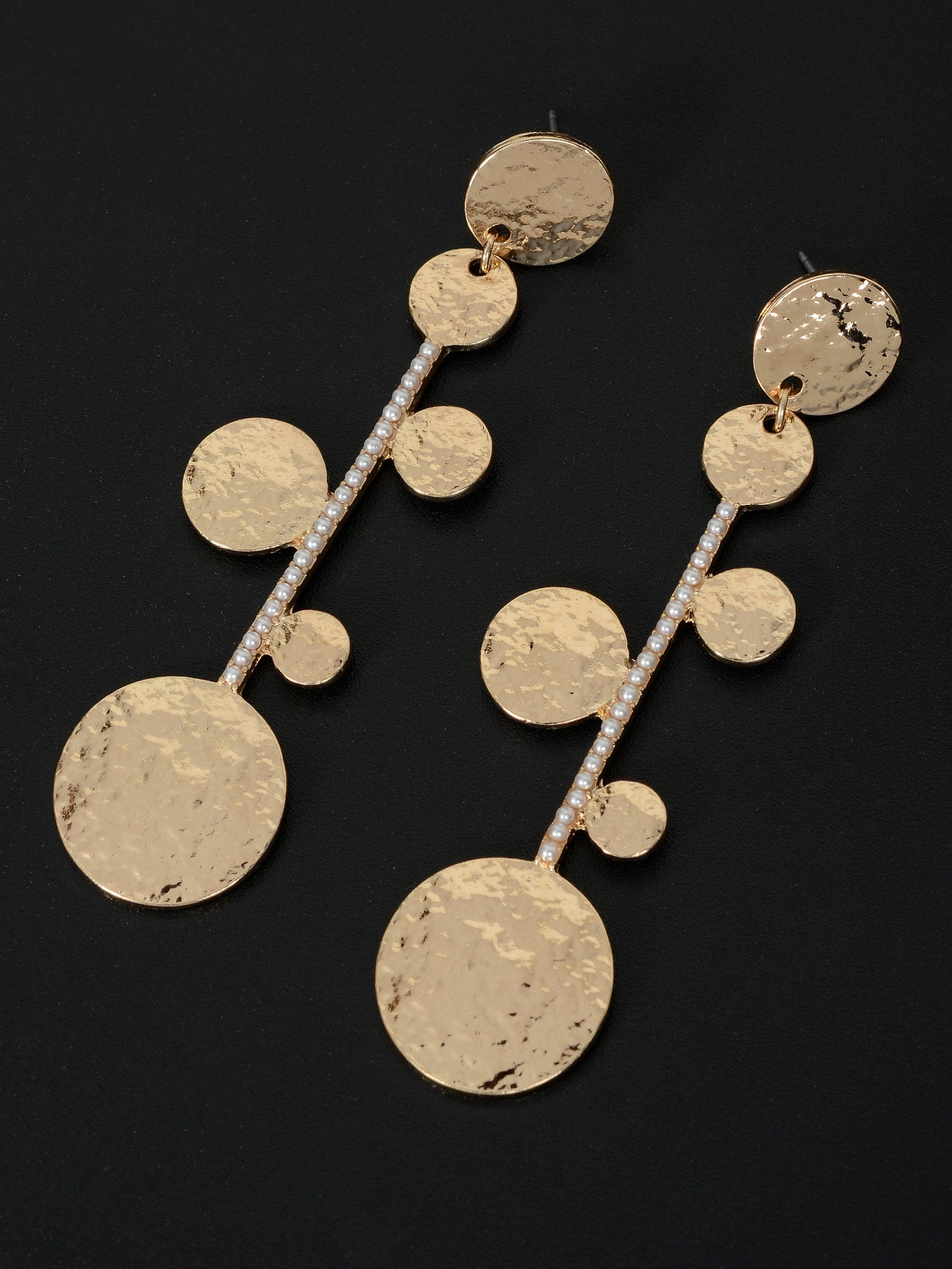 Circular Bar Earrings