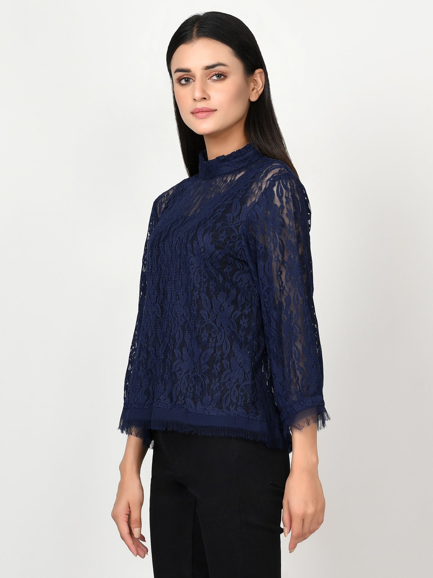 Plain Net Top