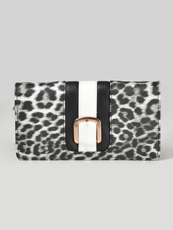Zip Around Cheetah Wallet