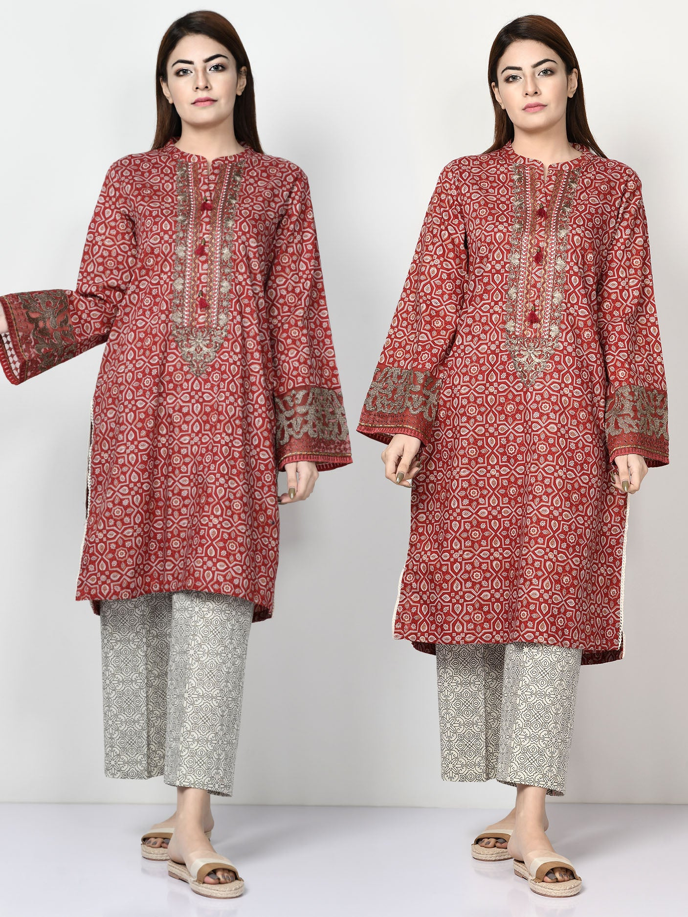 Limelight Online Embroidered Lawn Shirt P2928-SLL-YLO