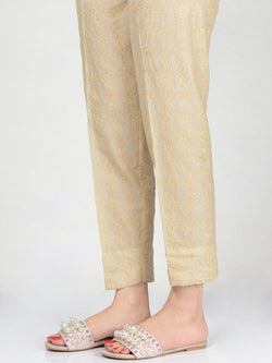 Embroidered Cambric Trouser