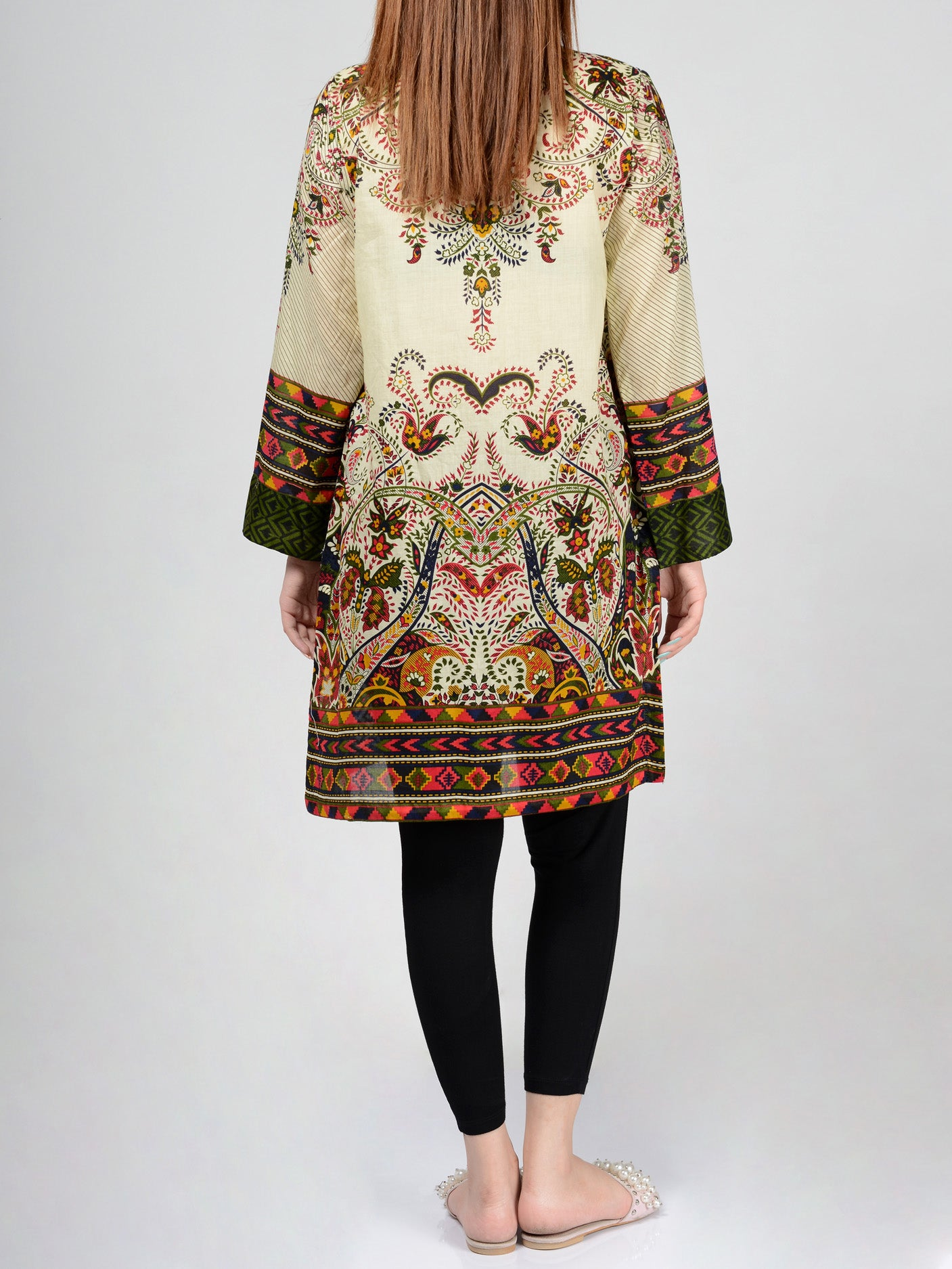 Pret Embroidered Lawn Shirt P0119