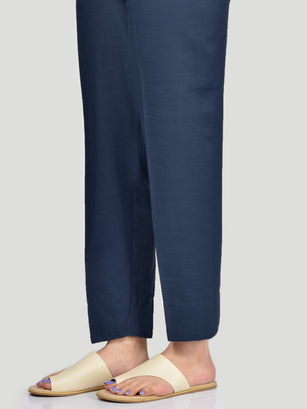 Straight Trouser-Blue