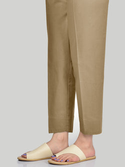 Straight Trouser-Dark Khaki