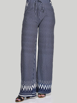 Jersey Striped Pants