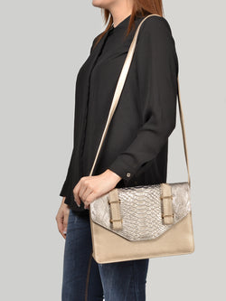 Textured Envelop Bag